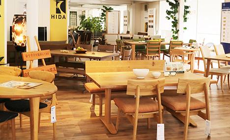 飛騨の家具の家具